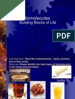 Topic2 Biomolecule Pp