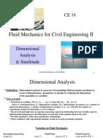 ES 15 Lec 9 Dimensional Analysis and Similitude