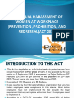 Ppt on Sexual Harassment