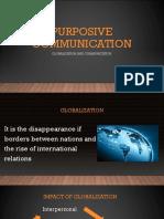 Globalization and Communication