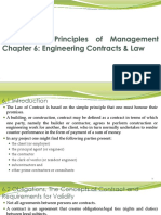 Chapter 6 - Engineering Contracts Law