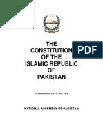Constitution of Pakistan 1973 (25th Amendment)