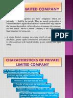 Advantage of Pvt Ltd Co