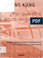 KUNG Hans. 2002. Por Que Una Etica Mundial