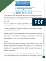 Tema 4 La Letra de Cambio