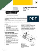 Jacket water heater