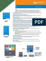 Datasheet MultiPlus Inverter Charger 800VA 5kVA En