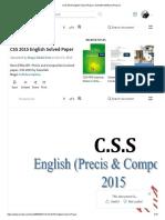 CSS 2015 English Solved Paper _ Scientific Method _ Reason