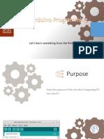 Basic Arduino Programming