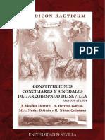 Isidoro de Sevilla - Synodicon Baeticum