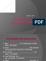 Simple Past or Present Perfect (1)