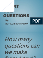 A Text and Questions Pptx