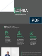 Dossier the Power Mba