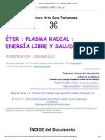Enrgia radial - Plasma