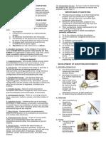 Module-1 Fundamentals of Surveying