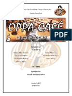 Oppa Cafe Business Plan Final 1