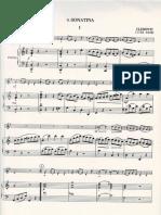Clementi Sonata - Piano Part