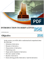 1. Introduction to Derivatives