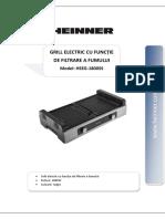 Manual gratar electric Heinner