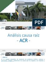 Presentación ACR