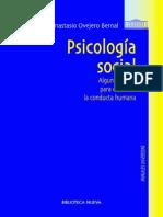 Ovejero Bernal Anastasio - Psicología Social - Algunas Claves Para Entender La Conducta Humana.pdf