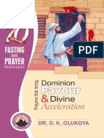 70 Days of Prayer and Fasting