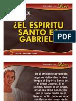 TEMA-09 El Espíritu Santo es Gabriel