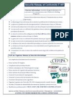CQP Ingénieur Sécurité Réseau Et Conformité IT H_F