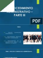 Procedimiento Administrativo III.
