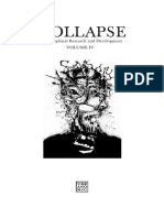 Collapse Issue 4 Concept Horror