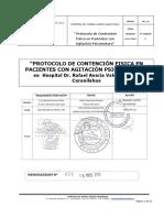 Protocolo de Contención Fisica en Pacientes Con Agitación Psicomotora en Hospital Dr. Rafael Avaria Valenzuela de Curanilahue