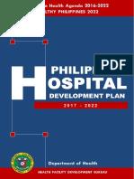 Philippine Hospital Development Plan  2017-2022