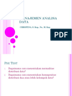 Management analisi data