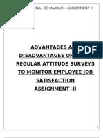 Assignment II-Organisational Behaviour