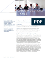 Corporate Governance and King 3