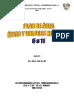 Plan de Area Etica Yina 2019