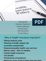 Health Insurence Ppt