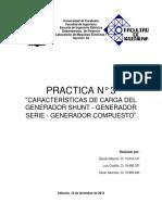 Informe3 Maquinas Electricas I