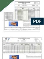 MT-38 Control Dimensional Compresión y Absorción Ladrillo No Estructural de Arcilla Muestra 34