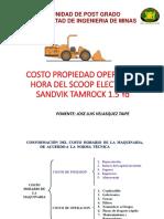 231591570 Ppt Costo Propiedad Operacion Hora Del Scoop Electrico Sandvik