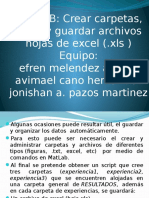 Matlab Manipulacion de Archivos Excel Desde Matlab