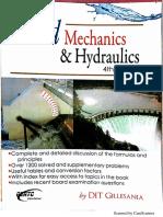 Fluid Mechanics and Hydraulics 4th Edition