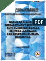 Norma Planes Preparativos y Respuestas Web