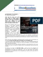 "Por Jorge Aniceto Molinari  ES NECESARIO ""FILOSOFAR.doc"