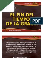 TEMA-14 El Fin Del Tiempo de Gracia
