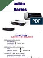 Xarios 500 Training Español