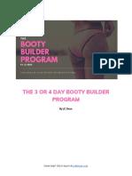 Booty Builder v2