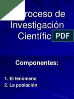 Proceso de investigacion cientifica