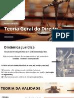 Monitoria Teoria Geral Do Direito III