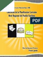 Planificación Curricular Garifuna Mineduc